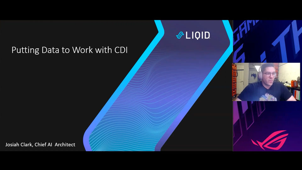 Putting Data to work with CDI