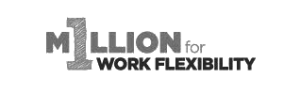 million for work flexibility logo