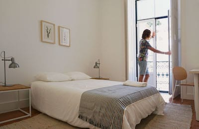 Bedroom at Outsite Lisbon