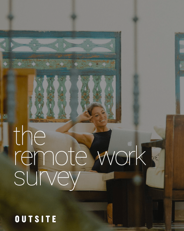 The Remote Work Survey cover