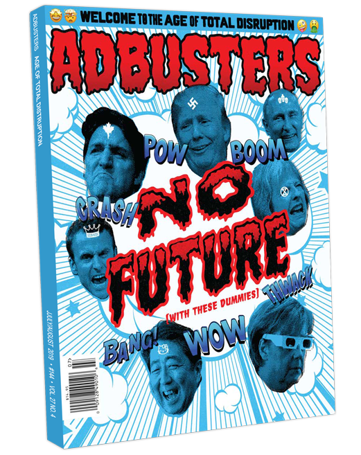 Adbusters issue 144