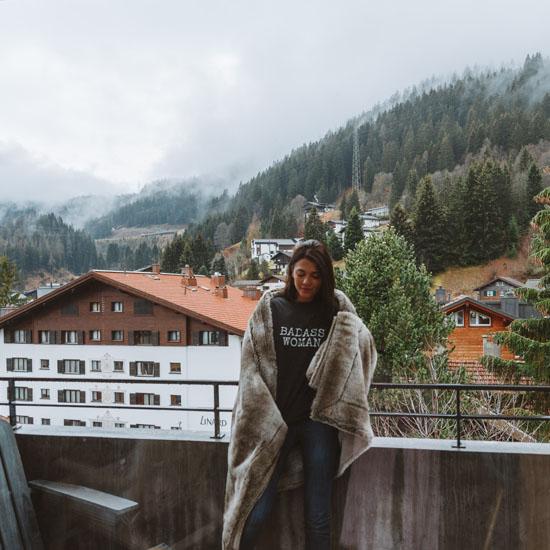 Coliving in Swiss Alps, Switzerland