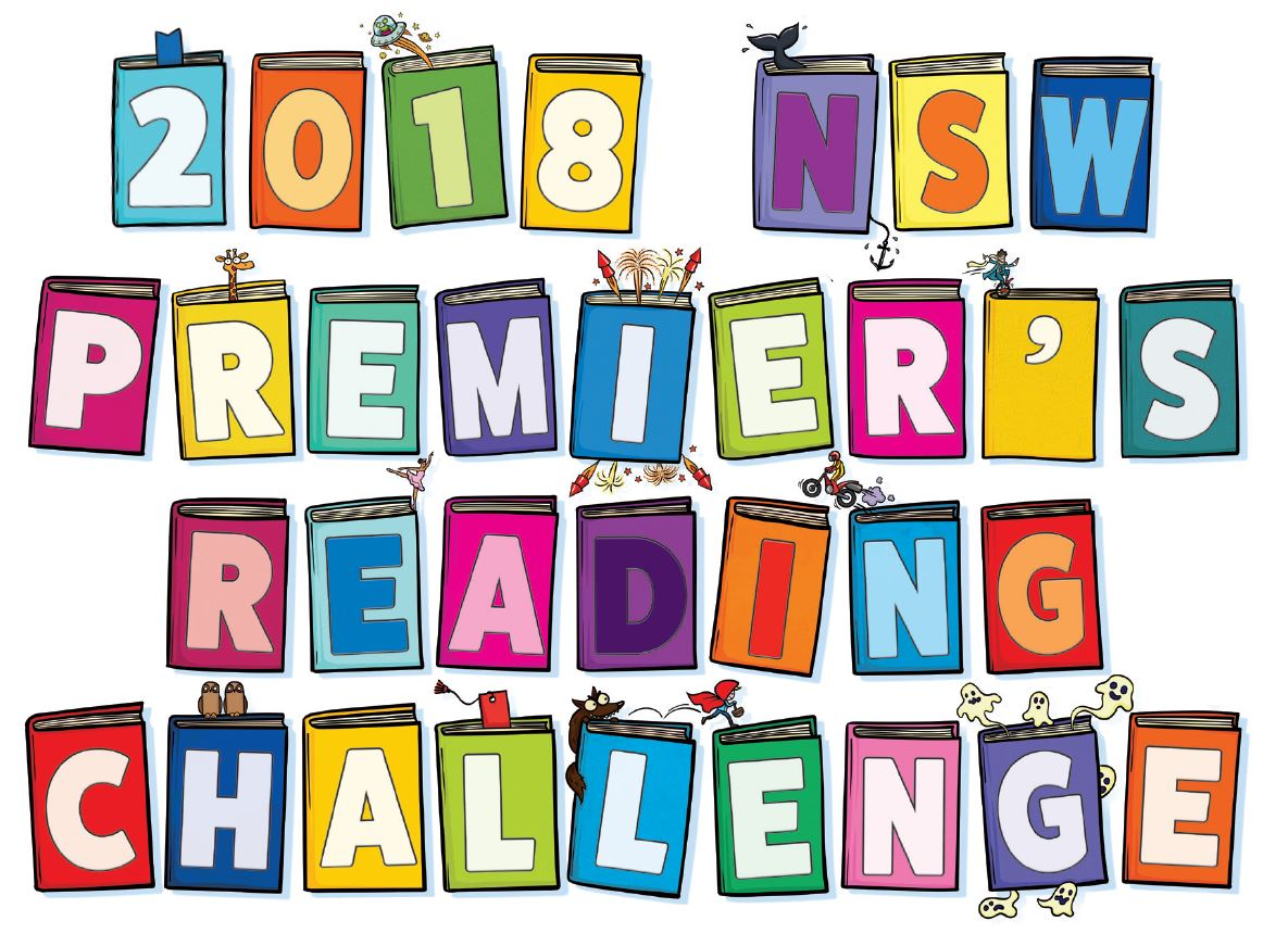 2018 NSW Premier's Reading Challenge artwork