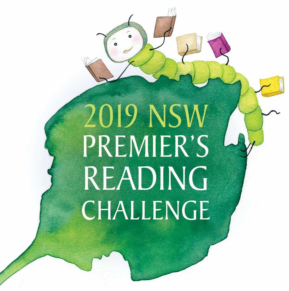 2018 NSW Premier's Reading Challenge artwork