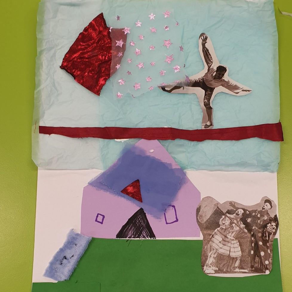 Gundagai South Public School artworks from the lesson