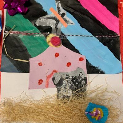 Manildra Public School artworks from the lesson