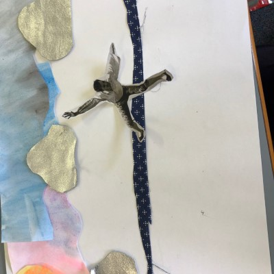 Mulwala Public School artworks from the lesson