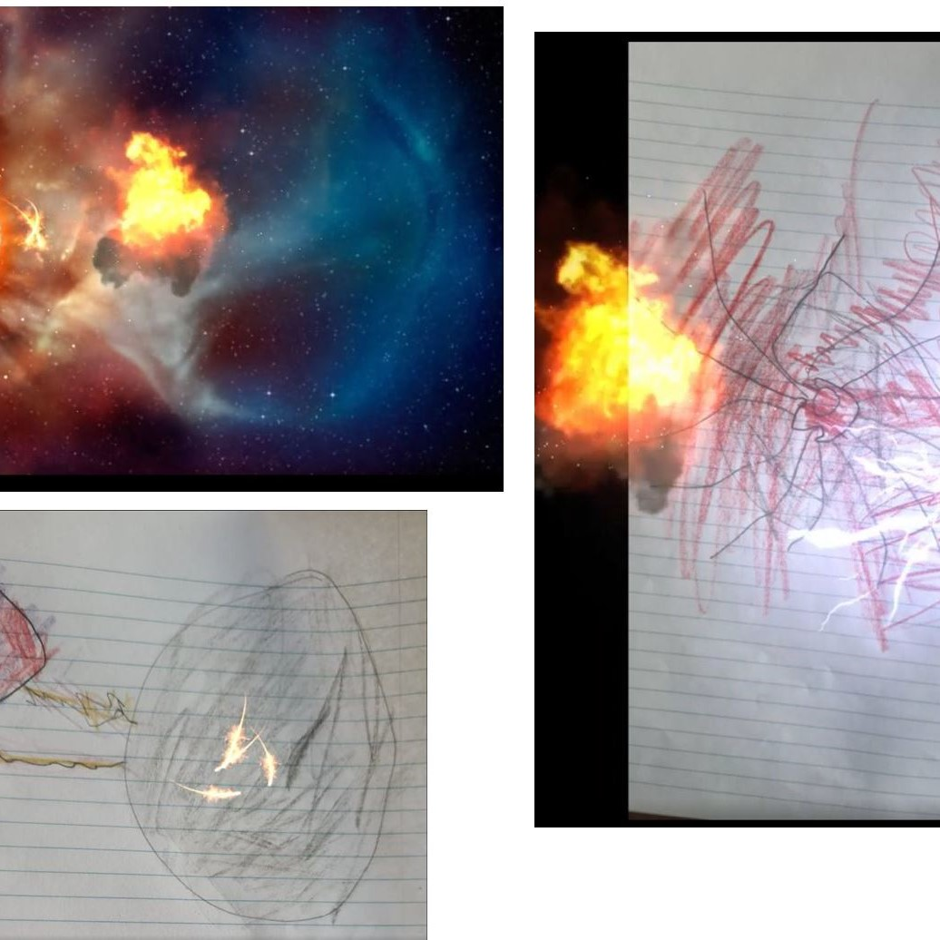 #CAPAexplosion artwork from Bexley North Public School student