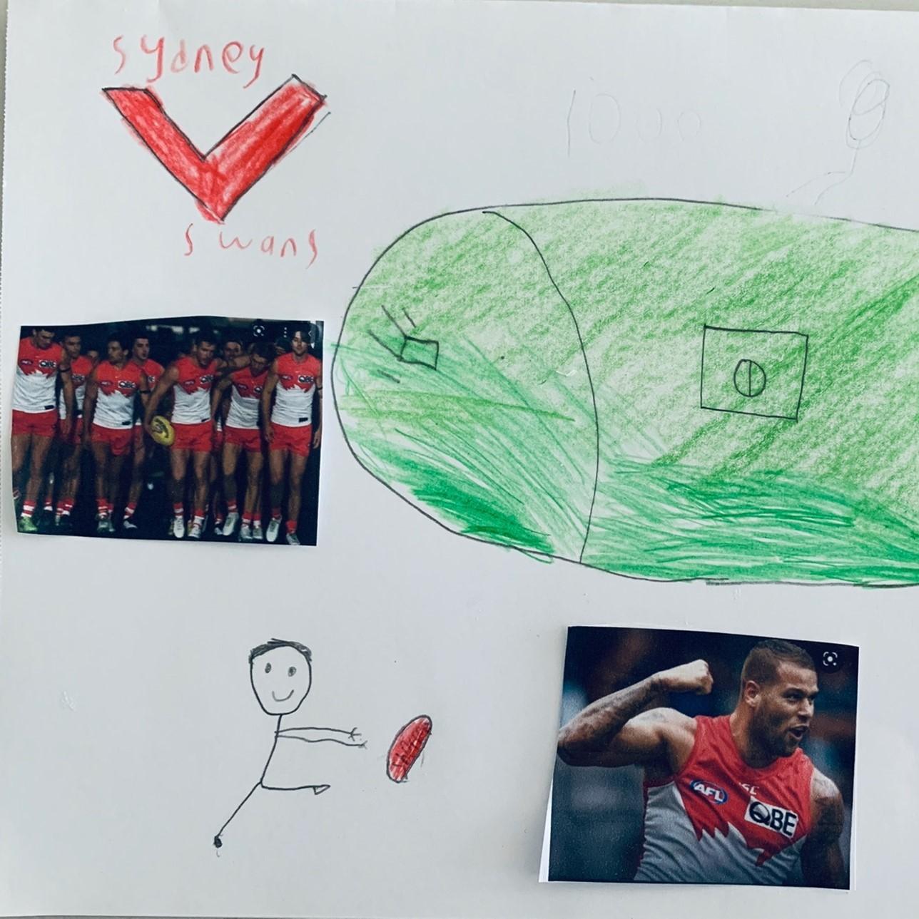 #CAPAexplosion artwork from Burraneer Bay Public School student