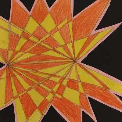 #CAPAexplosion artwork from Katoomba North Public School student