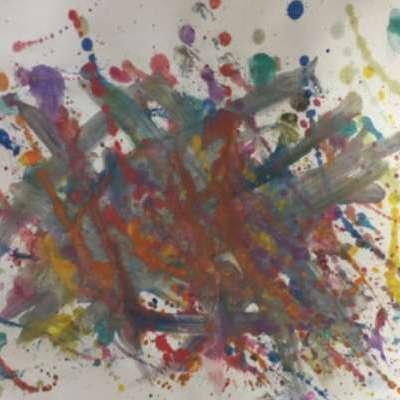 #CAPAexplosion artwork from Greenwich Public School student