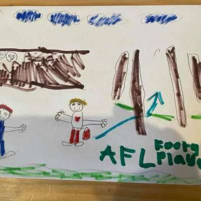 #CAPAexplosion artwork from Kegworth Public School student