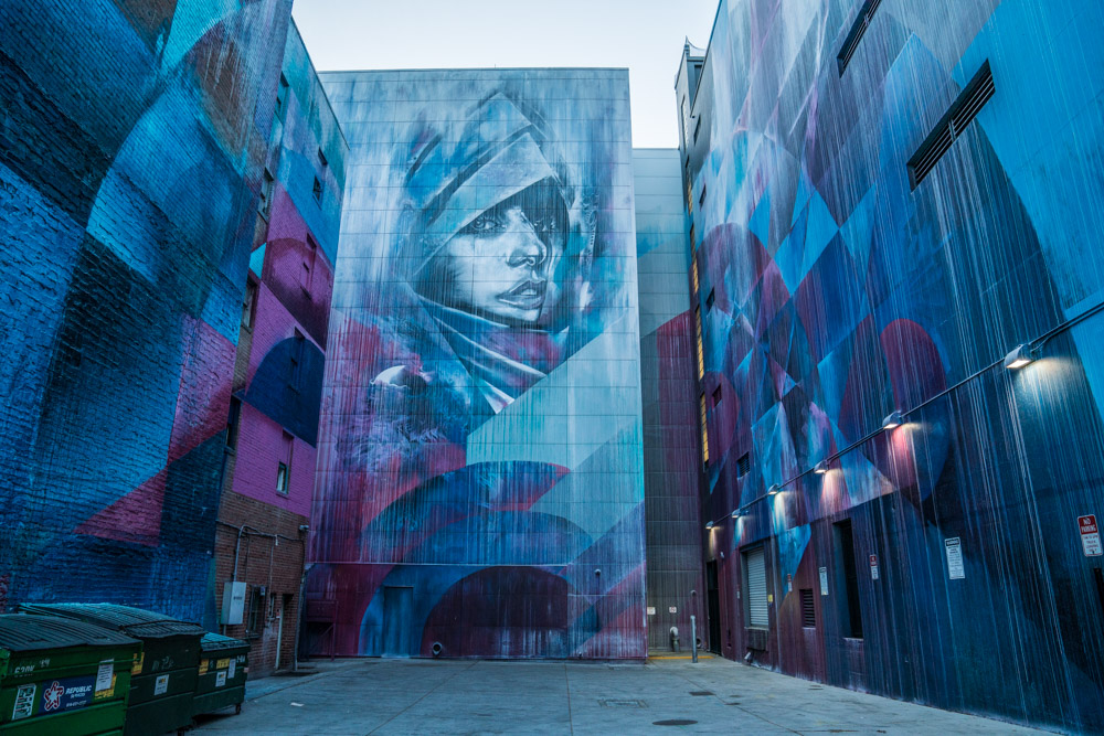 Midtown offers a wide variety of artists' murals located in alleyways and buildings.
