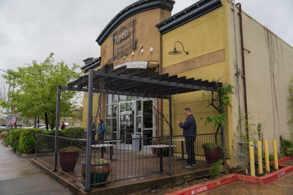 Exterior of Tupelo Coffeehouse in Sacramento, CA