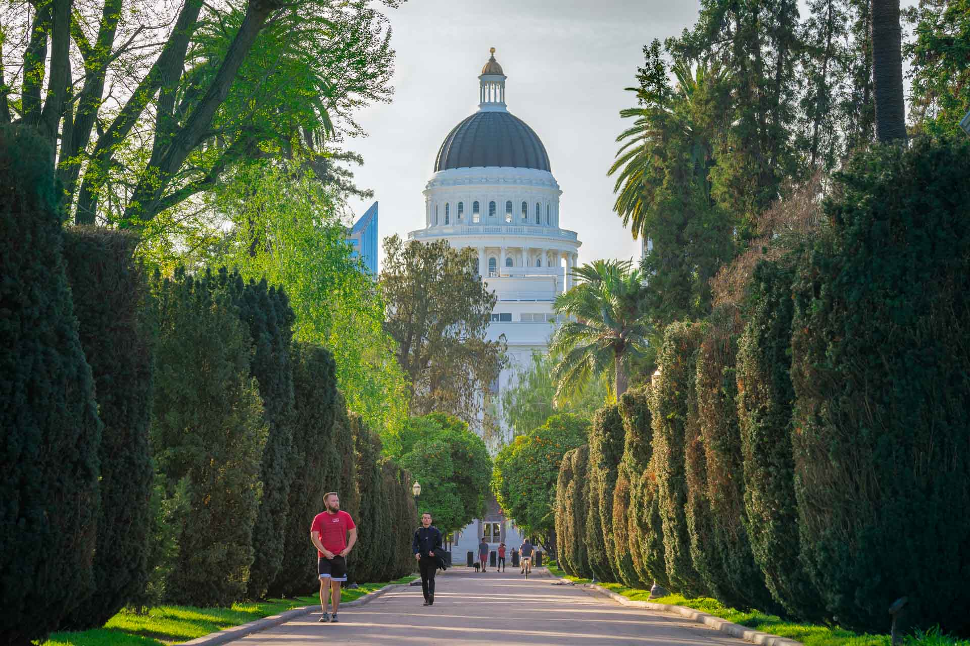 California's State Capitol building in Sacramento, CA