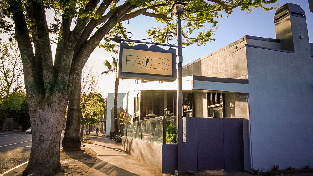 Exterior of Faces in Sacramento, CA