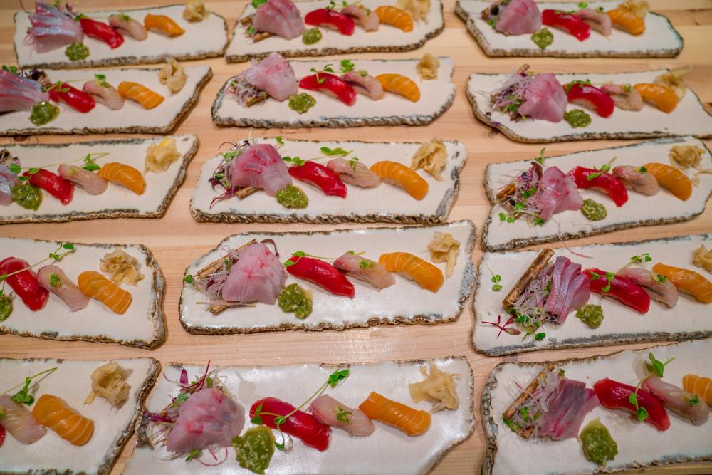 Sushi at Kru in Sacramento, CA
