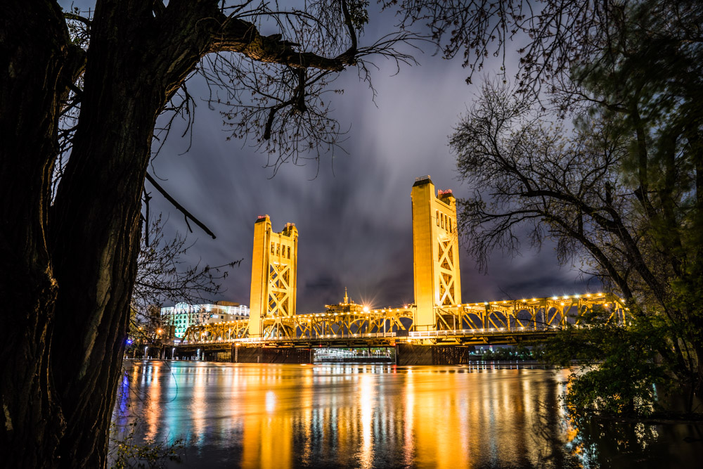 Tower Bridge, a landmark in Sacramento