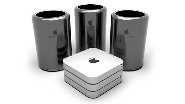 Mac Pro and Mac mini