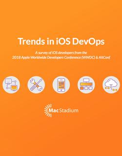 iOS DevOps Survey Cover