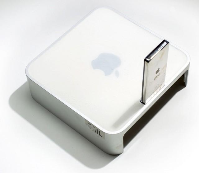Mac mini with dock