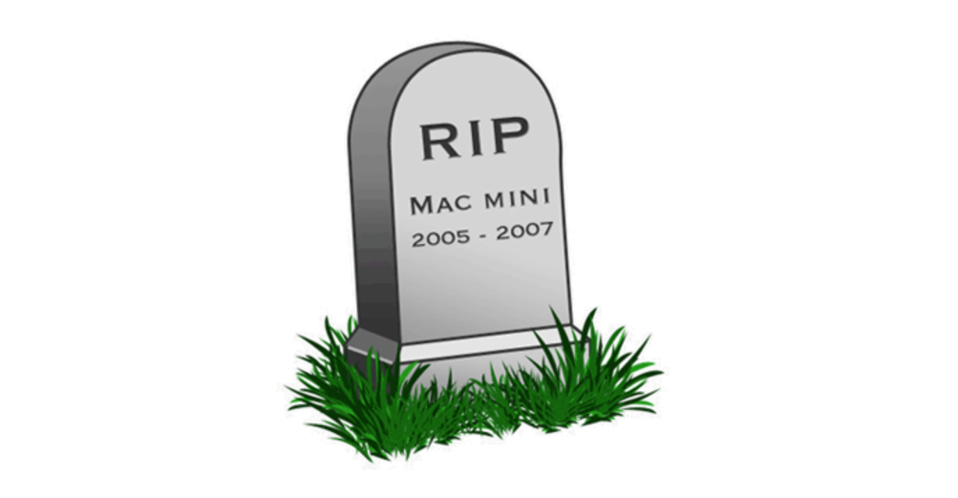 RIP Mac mini