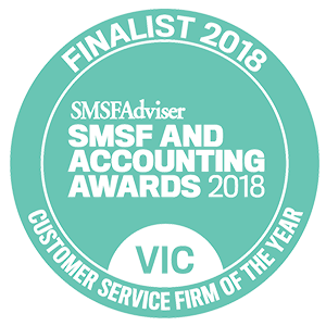 SMSF customer service firm of the year award