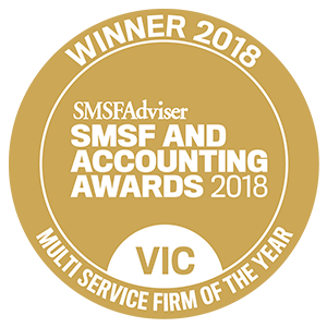 SMSF multi service firm of the year award