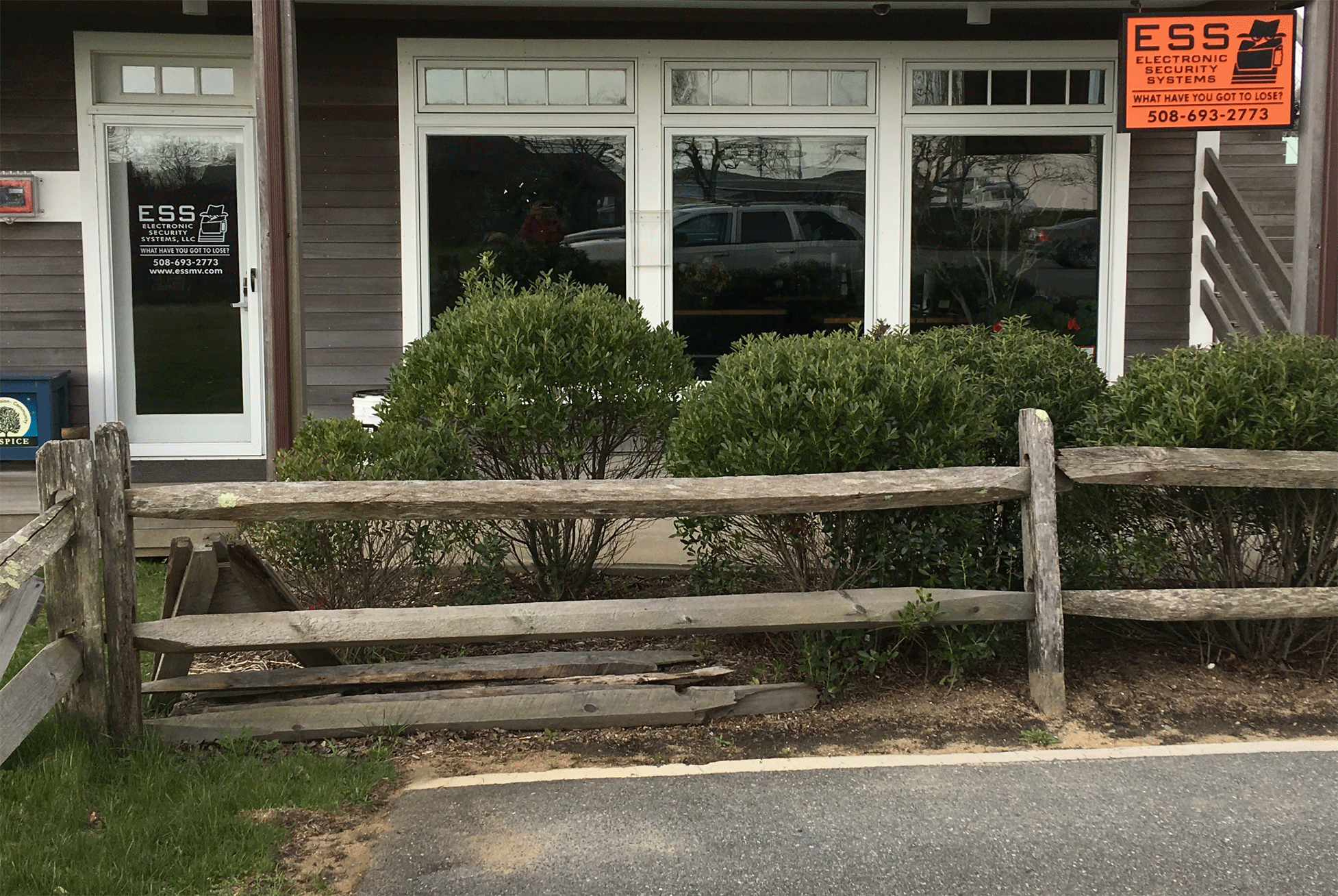Electronic Security Systems Storefront, Tisbury, MA