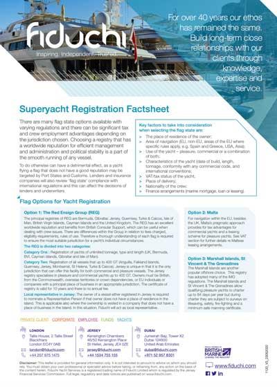 Ficha de Inscrição do Superyacht