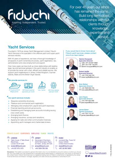 Yacht Services Leaflet