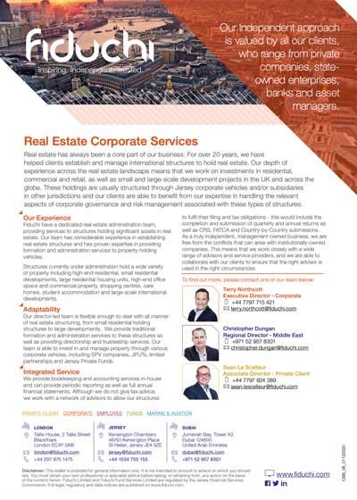 Serviços corporativos imobiliários