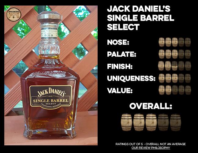 Jack Daniel S Single Barrel Select Review Breaking Bourbon
