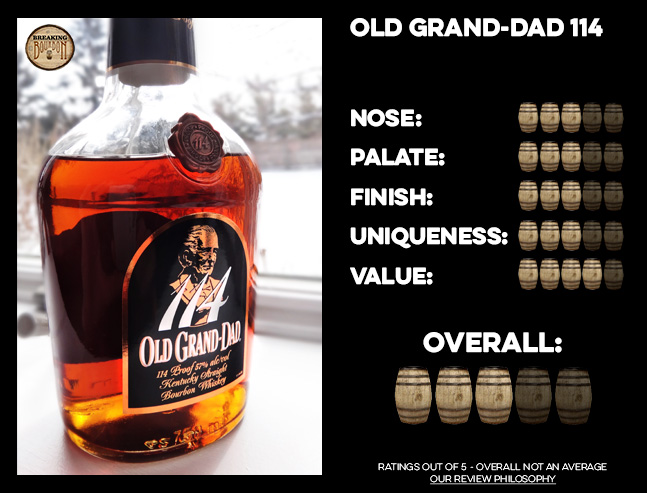 114 old grand dad 114 bourbon review breaking bourbon 1142 latigo cv 91915 old grand dad 114 bourbon review