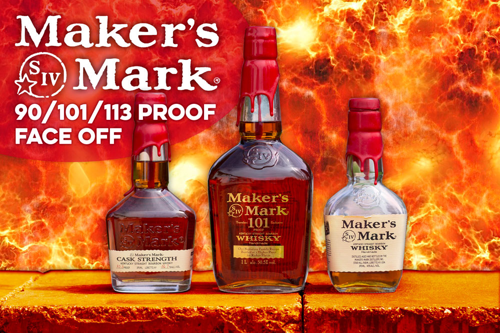 Maker's Mark 90/101/113 Proof Face Off