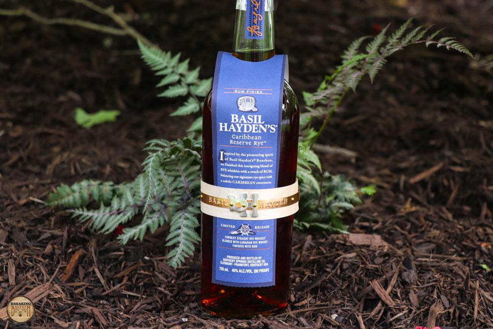 Basil Hayden's Caribbean Reserve Rye Review | Breaking Bourbon
