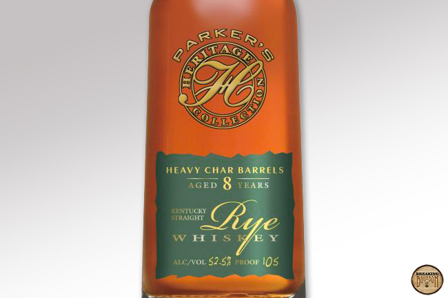 Parker's Heritage Collection: Heavy Char Barrels Straight Rye Review | Breaking Bourbon