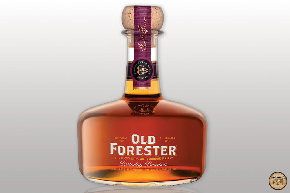 Old Forester 2019 Birthday Bourbon Review | Breaking Bourbon