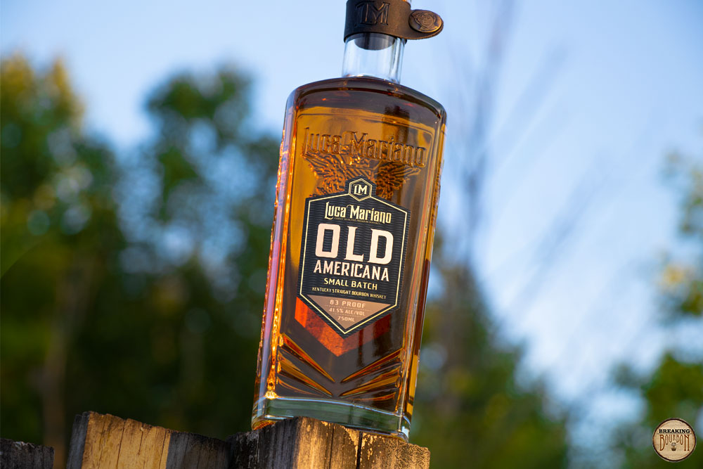 Luca Mariano Old Americana Small Batch Bourbon Tasting Notes | Breaking Bourbon