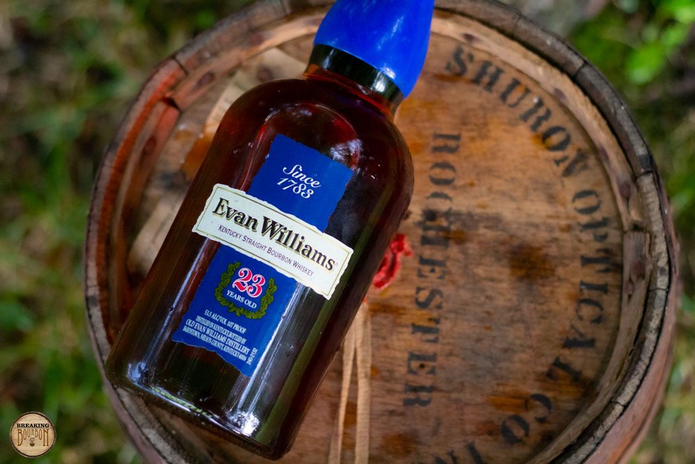 Evan Williams 23 Years Old Review | Breaking Bourbon