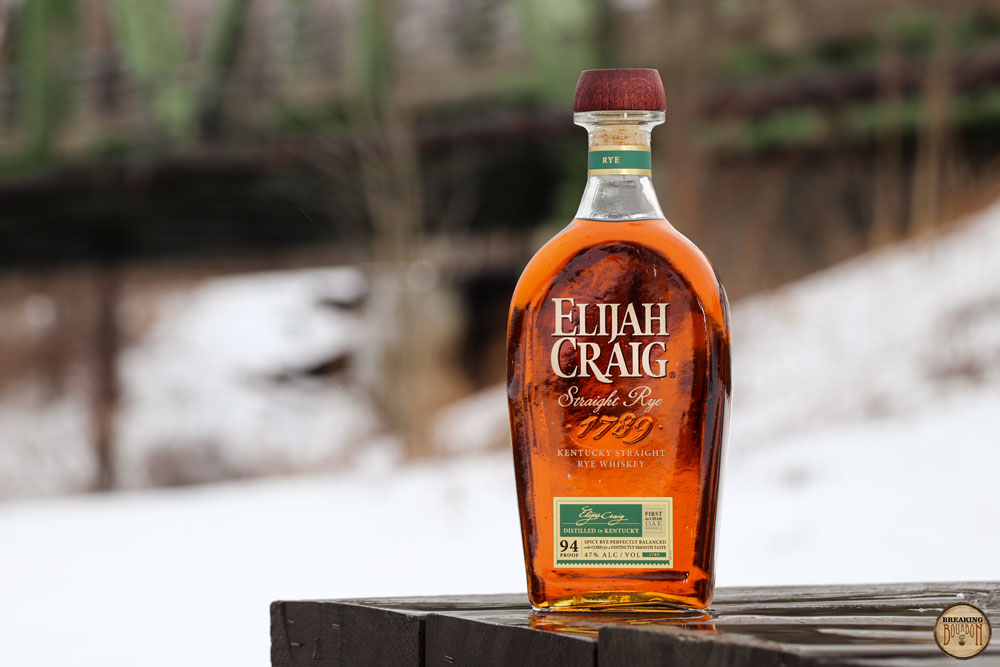 Elijah Craig Rye Review | Breaking Bourbon