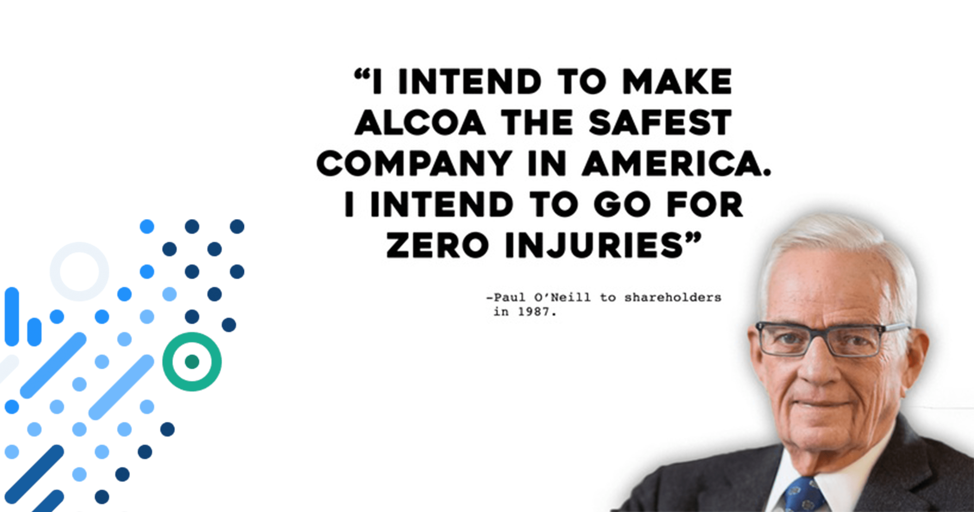 How Alcoa quintupled their revenue by focusing on worker safety