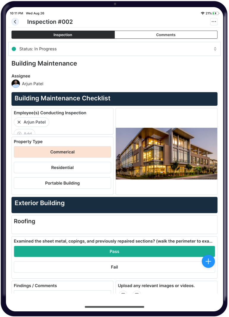 Improve & Standardize with Custom Inspections & Knowledge Base