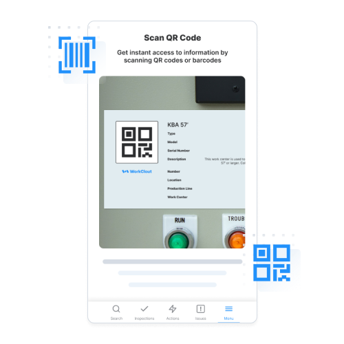QR Code and Barcode