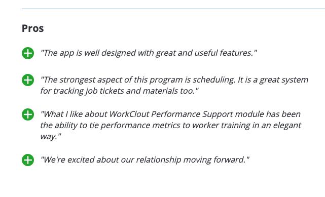 WorkClout Customer Pro Reviews Capterra