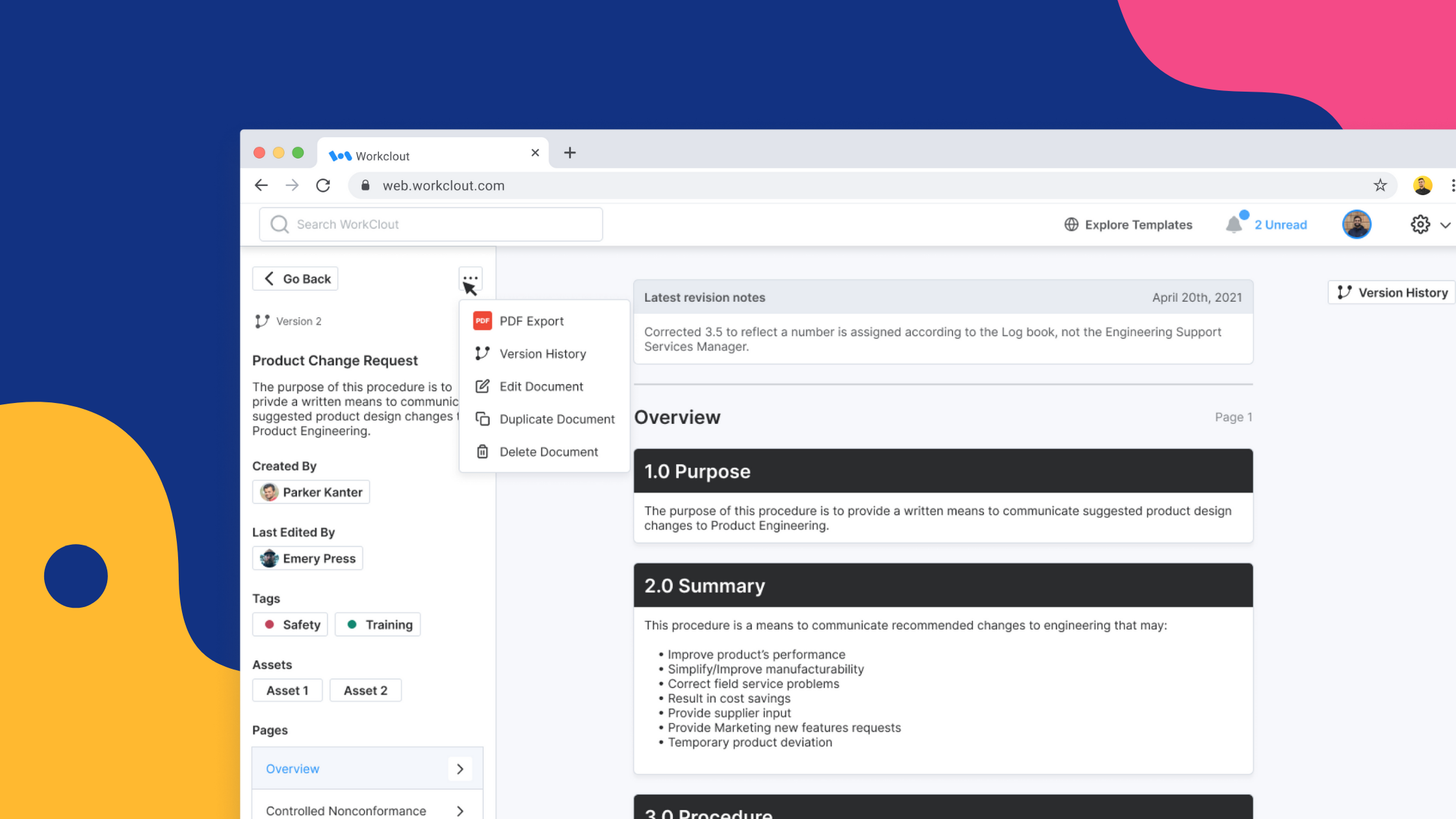 New Features: New Documents, Folder Management, Upload Files, + More