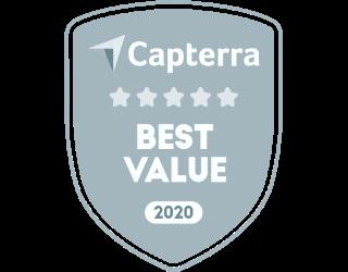Capterra Best Value 2020