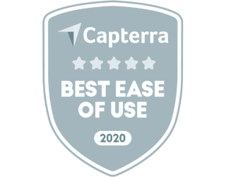 Capterra Best Ease of Use 2020
