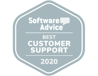 Software Advice Best Customer Support 2020