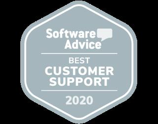 Software Advice Best Customer Support 2020